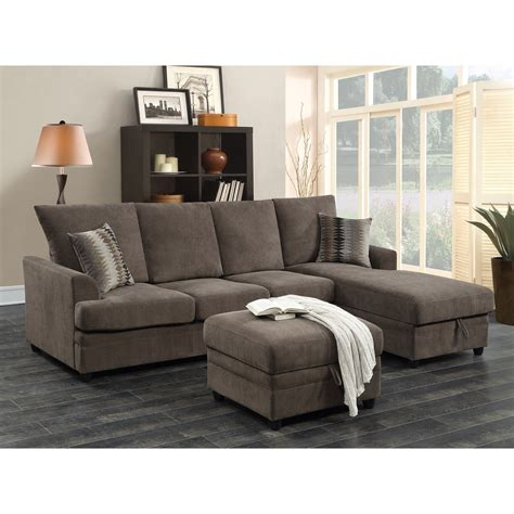 The Loveseat by Moxie Chocolate Sectional Sofa With Sleeper Quality