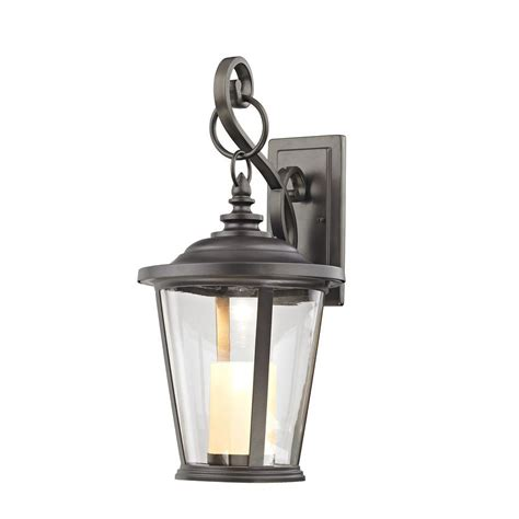 home decorators collection rubbed bronze led medium