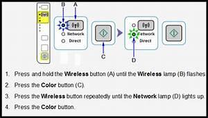 Set Up Wireless Printer Diagram