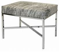 Bedroom Benches Ideas Modern Cowhide Bench Contemporary Bedroom Benches By Pfeifer