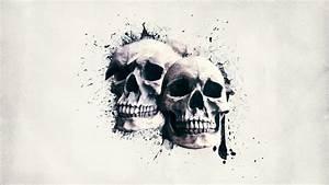 #Wallpaper - Skull Wall by Digital5media on DeviantArt