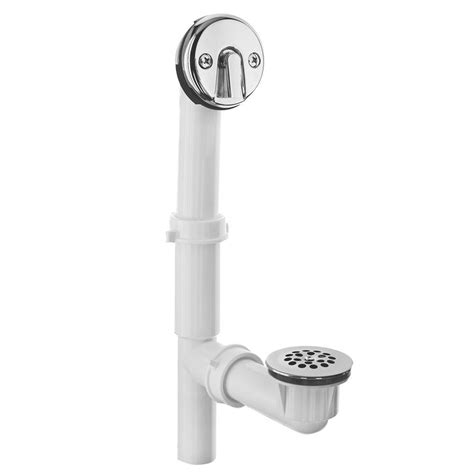danco tub drain kit trip lever   home depot