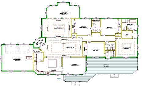 single story house plans single story open floor plans