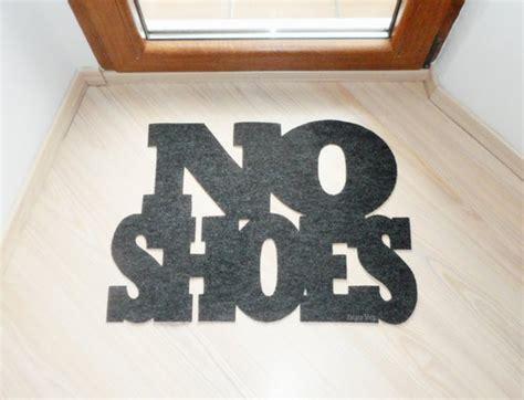 No Shoes Doormat by Design Door Mat No Shoes Personalized Floor Mat