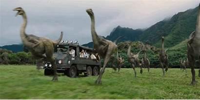 Jurassic Trailer Gallimimus Park Cult Mac Killham