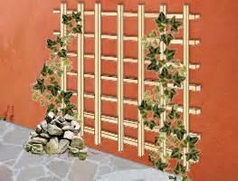 kletterrosen balkon bauanleitung rankgitter aus holz für die fassade