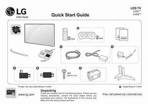 Lg 32lh520d 43lh520t Quick Setup Guide