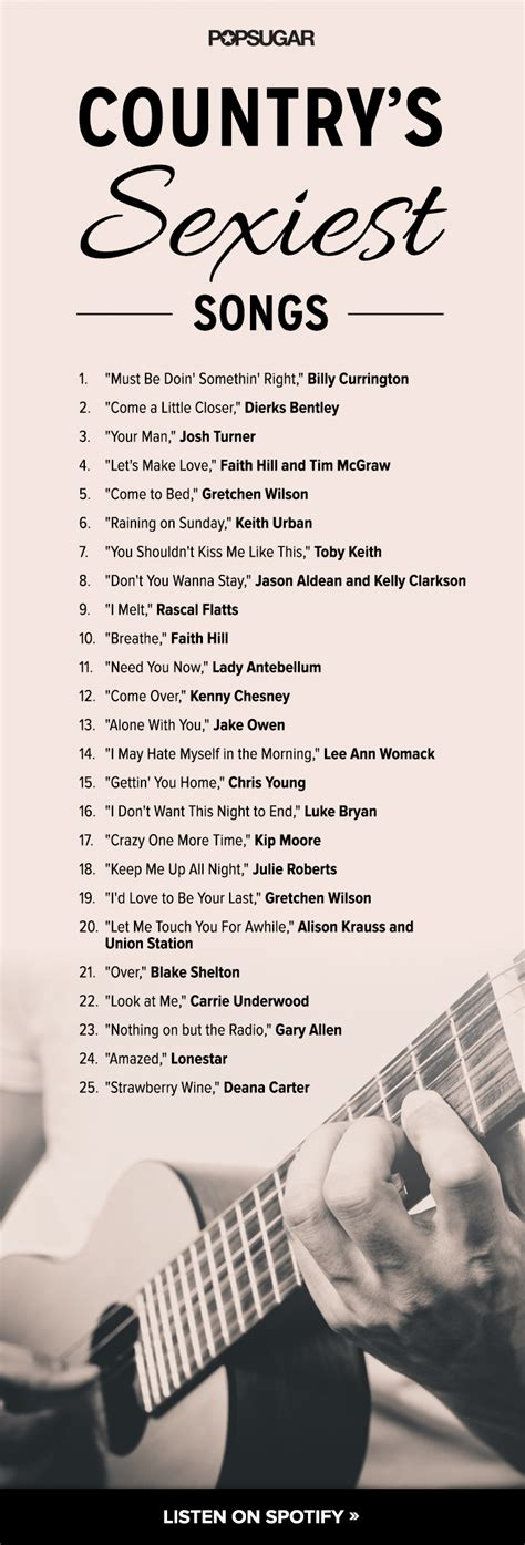 songs country country love songs playlists popsugar love sex