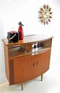 Vintage Teak Bar Drinks Cabinet/Cupboard/Buffet Unit ...