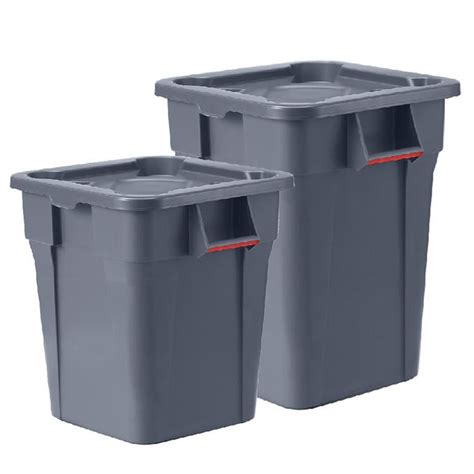 Heavy Duty Square Waste Container  Aj Products