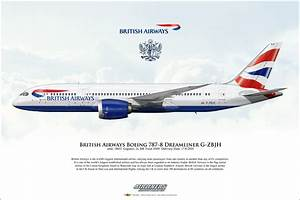 Airliners Illustrated® British Airways Boeing 787-8 ...