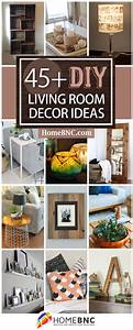 45, Best, Diy, Living, Room, Decorating, Ideas, And, Designs, For, 2021