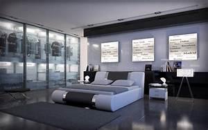 Bett 200x220 Weiß : polsterbett face 200x220 weiss 200 x 220 cm wasserbetten rahmen offizielle hersteller ~ Indierocktalk.com Haus und Dekorationen