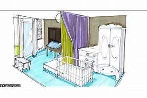 Rideau Séparateur De Pièce : un double rideau en guise de cloison s paration pi ce pinterest doubles rideaux cloisons ~ Teatrodelosmanantiales.com Idées de Décoration