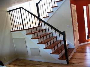 Wrought Iron Stair Railing Photo New Home Design : Elegance and Subtlety Wrought Iron Stair