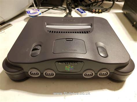 nintendo n64 console nintendo n64 rgb modification on pal console 8bitplus