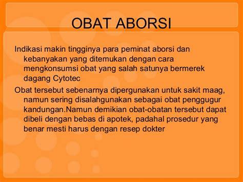 Apotek Obat Aborsi Jambi Identifikasi Obat