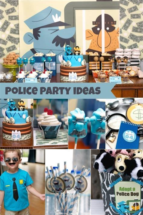 police birthday party   year  boy family review guide