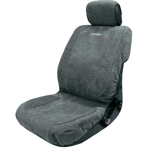 siege conducteur housse de siège 1 pièce eufab 28294 micro fibre gris siège