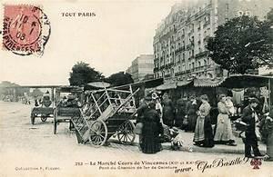 88 Cours De Vincennes : carte postale tout paris le march cours de vincennes ~ Premium-room.com Idées de Décoration