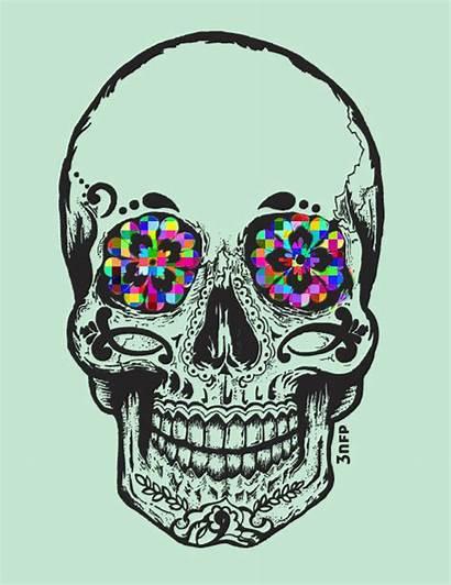 Skull Calaveras Calavera Drugs Kuru Lsd Drogas