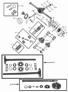 Rear Axle Parts For Amc Model 20 For 1976