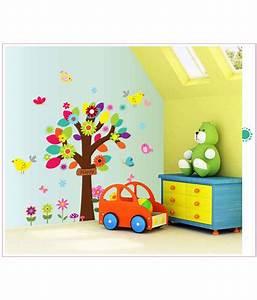 Oren empower wall decal cartoon tree sticker for kids