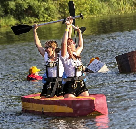 Cardboard Boat Buy by A Scorching Cardboard Boat Regatta One For The History