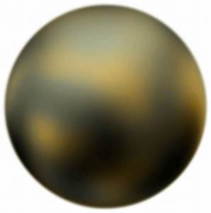 Pluto 90 Degree Face From Hubble Telescope by Merlin2525 ...