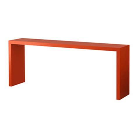 Ablagetisch Für Bett by Ikea Malm Ablagetisch Orange Moebelfans De