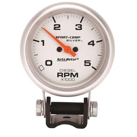 Auto Meter Ultra Lite Series Mini Diesel Tachometer