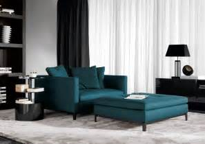 a beautiful sofa in teal furniture arcade house