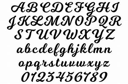 Fonts Lettering Script Cheer Personalisation
