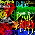 Progressive Rock Logos and Albums Photoshop Brushes