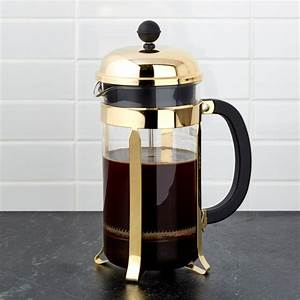 Bodum Gold French Press Reviews Crate And Barrel