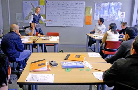 English Language Class  Immigration Regulation  Te Ara Encyclopedia Of New Zealand