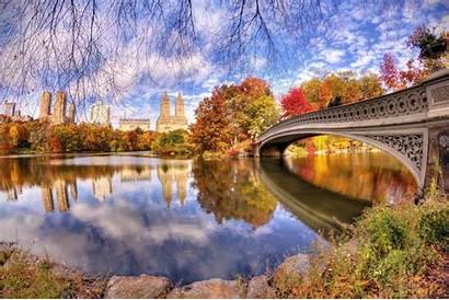Central Park York Autumn Desktop Wallpapers Fall