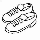 Zapatos Colorear Dibujos Vestiti Scarpa Scarpe2 Disegno Dibujo Pintar Misti Colorea Tus Zapato Coloreatudibujo Colorare sketch template