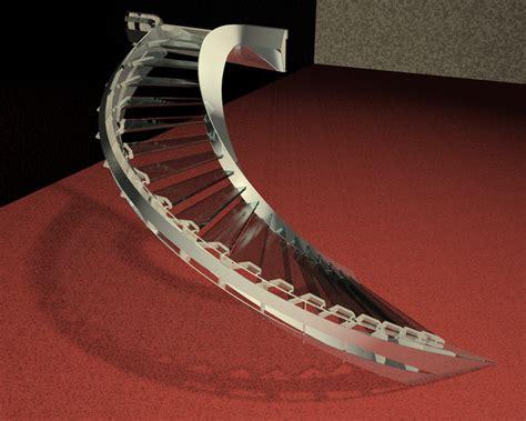 siege ordinateur le metal un escalier