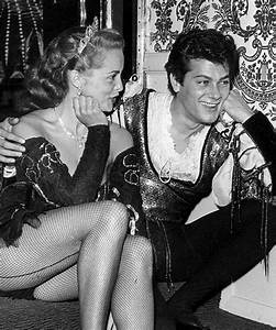 Janet Leigh & Tony Curtis | Hooray for Hollywood | Pinterest