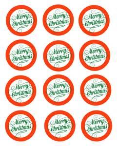 Merry Christmas Gift Tags Printables