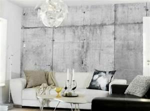 Tapete In Betonoptik : tapeten betonoptik ihr traumhaus ideen ~ Orissabook.com Haus und Dekorationen