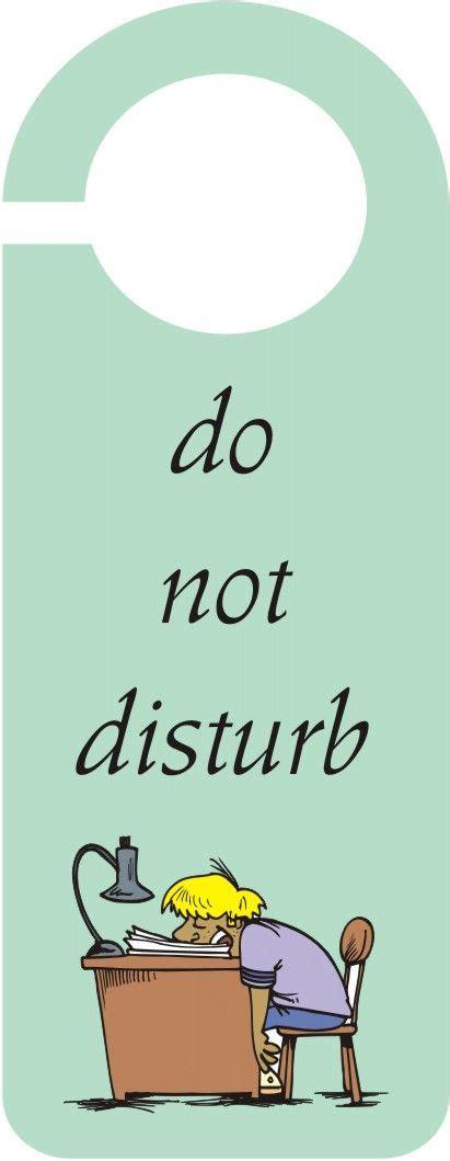 Free Do Not Disturb Door Hanger Template by Do Not Disturb Door Hanger Crafts Arts Crafts
