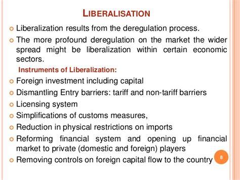 liberalisation globalisation privatisation insurance liberalization