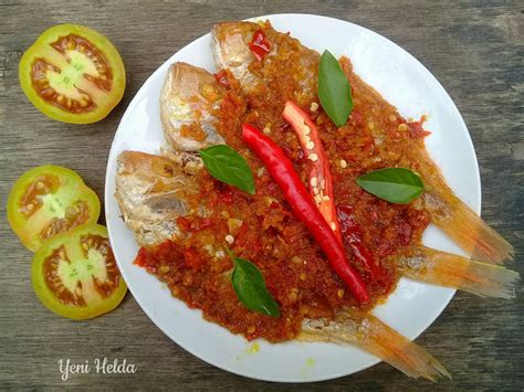 Cara membuat ikan goreng bumbu kuning. Resep ikan bumbu kuning tanpa kuah - Yeni helda.com