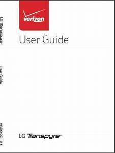 Lg Transpyre User Manual    Guide
