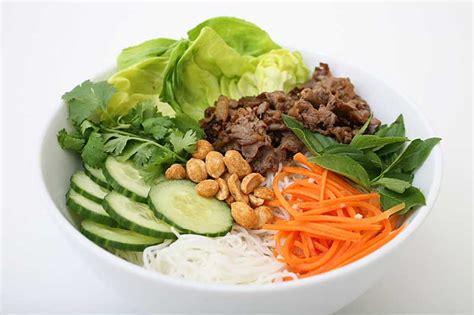 cuisine vietnamienne recettes recette bobun bún bò bun bo bo bun au boeuf recettes