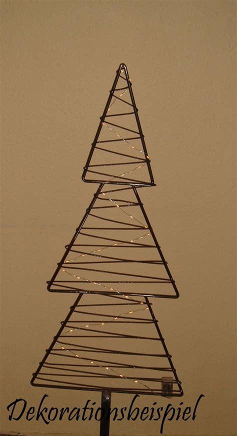 weihnachtsbaum aus metall tannenbaum mit draht umwickelt h 246 he 1 35 meter ohner dorfschmiede
