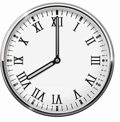 Roman Number Vector Clock Clip Oclock Eight