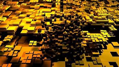 3d Gold Cubes 5k Wallpapers 4k Backgrounds